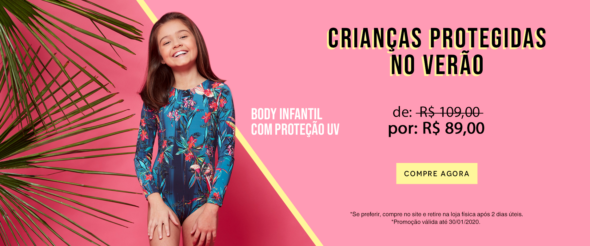 Promo - Body Infantil