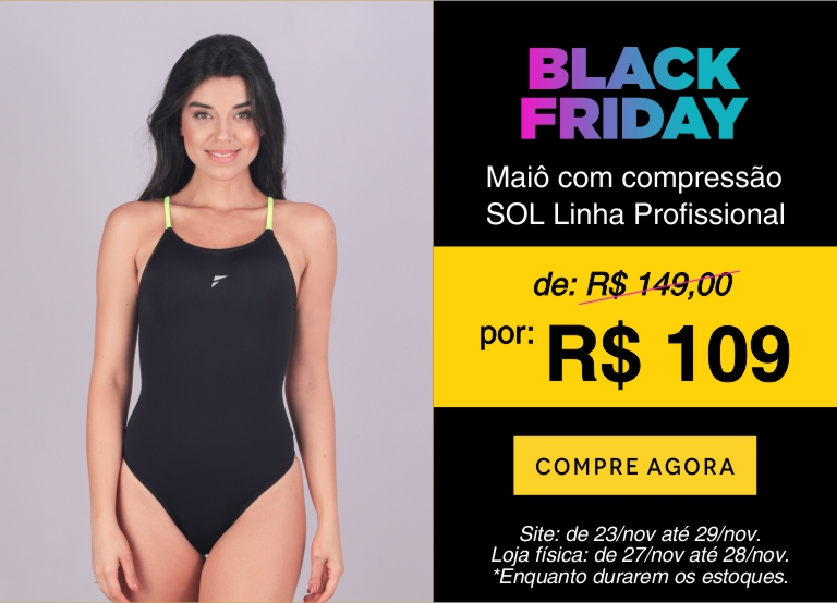 Maiô SOL - Black Friday mobile