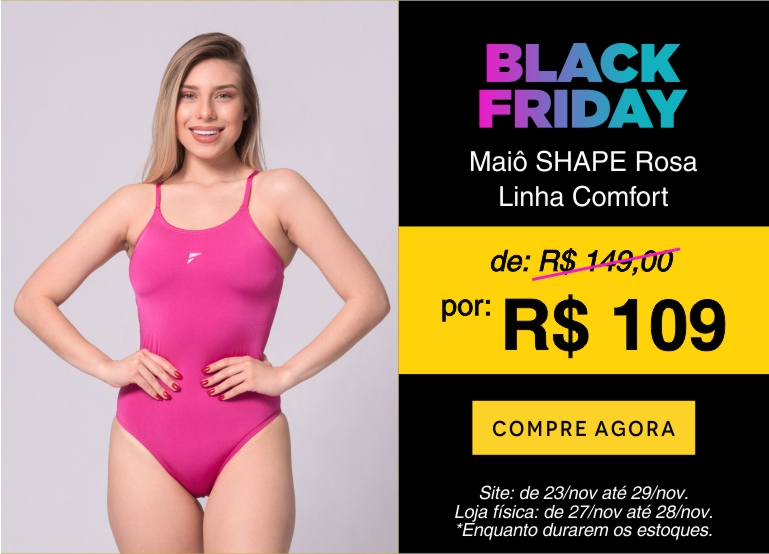 Maiô Shape 1 - Black Friday mobile