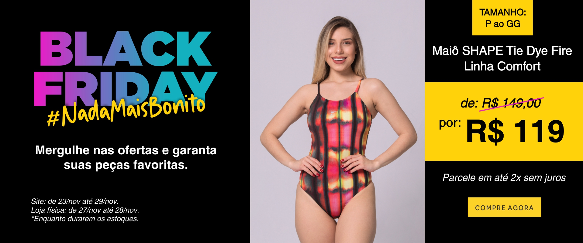 Maio Shape 2 - Black Friday