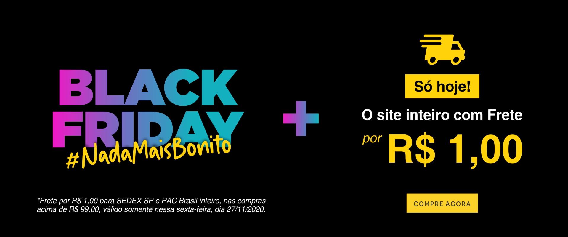 Black + Frete