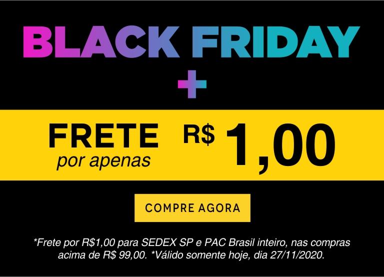 Black + Frete mobile